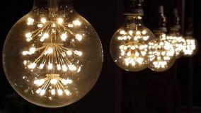 lâmpadas do vaga-lume Fotos de Stock
