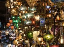 Lâmpadas em Istambul fotografia de stock royalty free