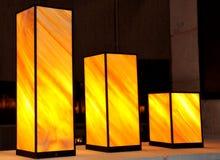 Lâmpadas eretas Imagem de Stock Royalty Free