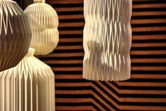 Lâmpadas inspiradas japonesas Foto de Stock