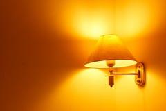 Lâmpadas no quarto Foto de Stock