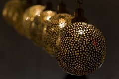 Lâmpadas orientais Fotos de Stock Royalty Free