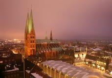 LÃ ¼ wenk, Duitsland Stock Afbeeldingen