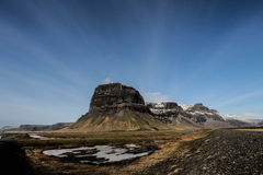 Là ³ magnúpur, Południowo-wschodni Iceland Fotografia Stock