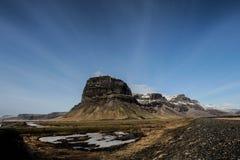 LÃ-³magnúpur, sydostliga Island Arkivbild
