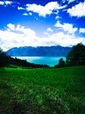Léman jezioro Obraz Royalty Free