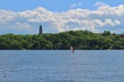 LÃ¥ngholmen ja Sztokholm Zdjęcie Royalty Free