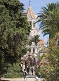 Lérins修道院,法国 库存照片