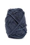 Lãs azuis do fio para fazer malha Imagem de Stock