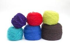 Lãs coloridas Imagem de Stock