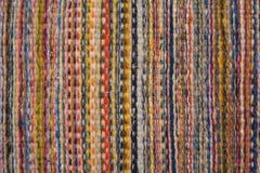 Lãs coloridas no fim acima fotos de stock