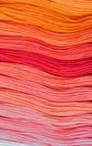 Lãs coloridos - fundo abstrato da forma imagem de stock