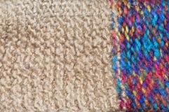 Lãs feitas malha coloridas Imagem de Stock Royalty Free