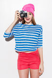 Lächeln! Lizenzfreie Stockfotos