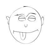 lächeln Lizenzfreie Abbildung