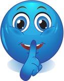 Lächeln bietet stilles an Lizenzfreies Stockfoto