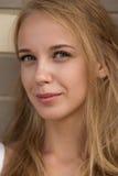 Lächeln blond Lizenzfreies Stockfoto