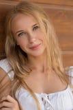Lächeln blond Lizenzfreie Stockbilder