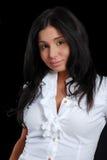 Lächeln der jungen Dame Lizenzfreies Stockfoto