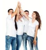 Lächeln der jungen Leute lizenzfreie stockbilder