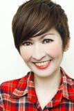 Lächeln des Glückes Lizenzfreies Stockfoto