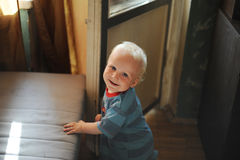 Lächeln des Glückes Lizenzfreie Stockfotos