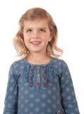 Lächeln des jungen Mädchens Lizenzfreie Stockfotos