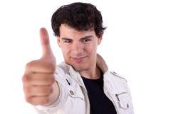 Lächeln des jungen Mannes lizenzfreies stockbild