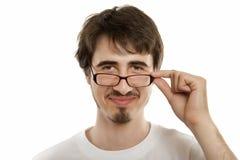 Lächeln des jungen Mannes Lizenzfreie Stockfotografie