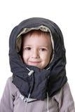 Lächeln des kleinen Kindes Stockfotografie