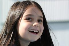 Lächeln des kleinen Mädchens Lizenzfreie Stockfotografie