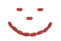Lächeln für Gesundheit stockbild