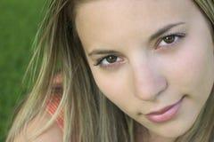 Lächeln-Frau Lizenzfreie Stockfotografie