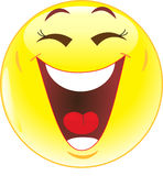 Lächeln. Gelächter. Lizenzfreie Stockfotos