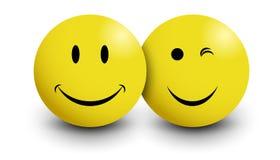 Lächeln getrennt Lizenzfreie Stockfotografie