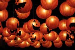 Lächeln an Halloween-Tag Lizenzfreies Stockfoto
