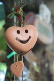 Lächeln-Herz Stockfotografie