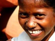 Lächeln Indien lizenzfreies stockbild