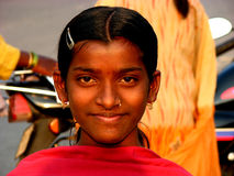 Lächeln-Lächeln stockbild