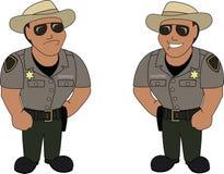 Ein Offizier Lizenzfreie Stockfotos