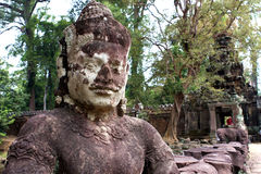 Lächeln von Kambodscha Stockbild
