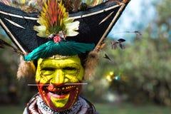 Lächeln von Papua-Neu-Guinea Stockbild