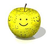 Lächelnapfel Lizenzfreies Stockbild