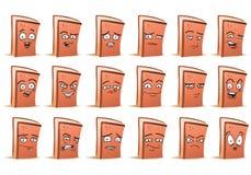 Lächelnbrotavatara-Ikonensatz Lizenzfreie Stockfotos