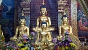 Lächelnbuddha-Statue Stockbilder