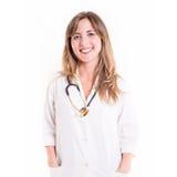 Lächelnde Ärztin Lizenzfreie Stockbilder