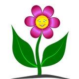 lächelnde Blume 3D Stockbilder