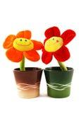 Lächelnde Blumen Stockfotografie