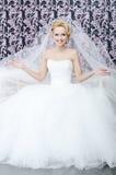 Lächelnde Braut Lizenzfreies Stockfoto