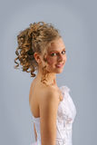 Lächelnde Braut 4 Lizenzfreies Stockbild